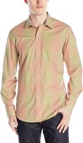 Robert Graham Men's Wick Long Sleeve Woven Shirt