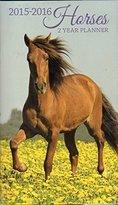 MULE Calander Two Year Pocket Planner 2015-2016 Horses