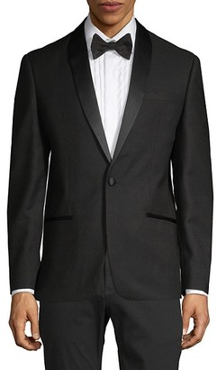 Ben Sherman Tonal-Lapel Dinner Jacket