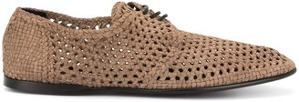 Dolce & Gabbana Perforated Derbies