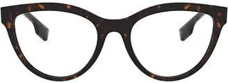 Burberry Cat Eye Frame Glasses