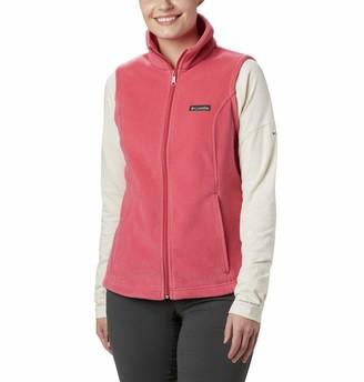 Columbia Women's Benton Springs Soft Fleece Vest Classic Fit