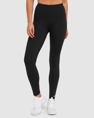 Fila Women's Black Tights - Classic Tights - Size One Size, XS at The Iconic