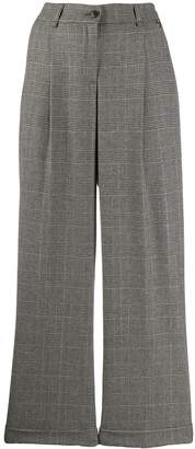 Twin-Set high waisted wide leg trousers