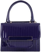 Willo Mini Bowler Handbag, Purple