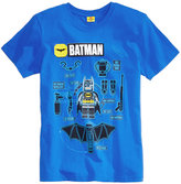 Lego Batman Graphic-Print T-Shirt, Big Boys (8-20)