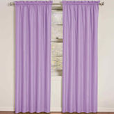 Eclipse Kids Wave Rod-Pocket Thermal Blackout Curtain Panel