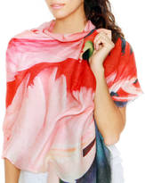 Lenox Lincoln + Cashmere Silk Ladies Scarf, Florida Flamingos