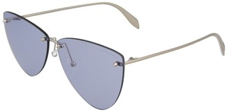 Alexander McQueen Women's Am0103s 63Mm Sunglasses