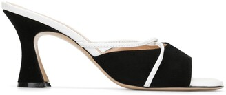 Madison.Maison 90mm Colour-Block Mules