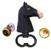 EttansPalace Horse Head Cast Iron Bottle Opener