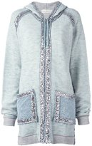 Faith Connexion sequin embellished hoodie - women - Cotton/Polyester - XS