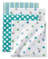 Carter's Monster 4-Pack Blankets in Teal