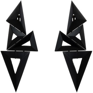 Natori Horn Triangle Mix Earrings
