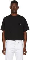 Balenciaga Black Oversized Logo T-Shirt