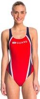 Speedo Lifeguard Quark Splice Pulse Back One Piece Swimsuit 42259