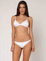 rhythm My Bralette Bikini Top In White size 14
