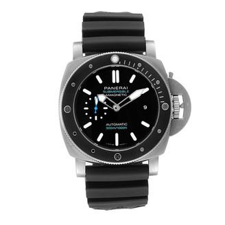 Panerai Black Titanium Luminor Submersible 1950 PAM01389 Men's Wristwatch 47 MM