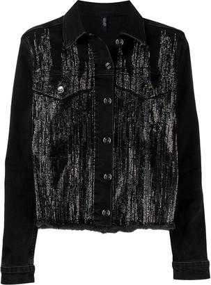 Liu Jo Crystal Embellished Denim Jacket