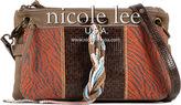 Nicole Lee Women's Naomi Neutral Works Shoulder Bag