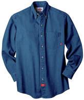 Dickies Long-Sleeve Denim Work Shirt - Big & Tall