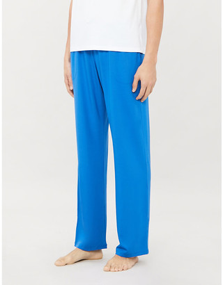 Derek Rose Basel relaxed-fit straight jersey trousers