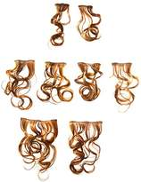 Hairdo. by Jessica Simpson & Ken Paves 8 Piece Wavy Hair Extension Kit,18 Inch