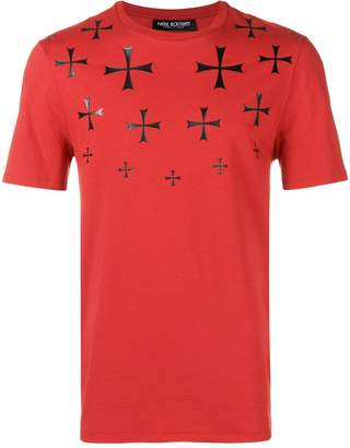 Neil Barrett military stars T-shirt