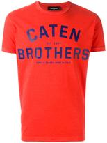 DSQUARED2 'Caten Brothers' T-shirt - men - Cotton - L