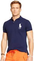 Polo Ralph Lauren Men's Custom-Fit Big Pony Mesh Polo Shirt