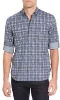John Varvatos Mitchell Plaid Long Sleeve Trim Fit Shirt