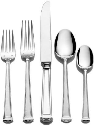 Tuttle Pantheon 46-Piece Dinner Flatware Set
