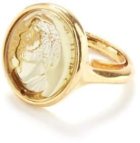 Oscar de la Renta Cameo Charm Ring