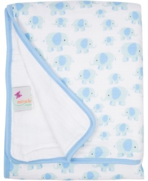 Miracle Baby Boys and Girls Muslin Serenity Blanket