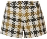 Alice + Olivia Alice+Olivia plaid short shorts