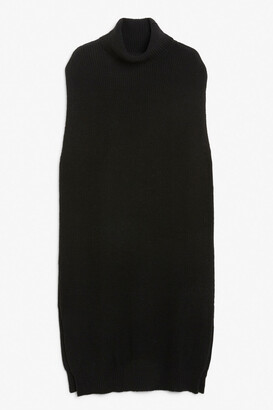 Monki Sleeveless knitted maxi dress