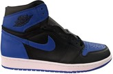 Jordan Air 1 Blue Leather Trainers