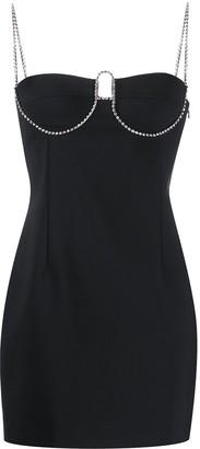 Area Short Embellished Cup Dress