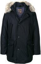 Woolrich fur-trim parka coat
