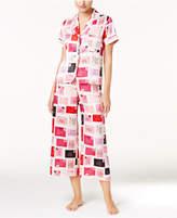 Kate Spade Printed Charmeuse Pajama Set