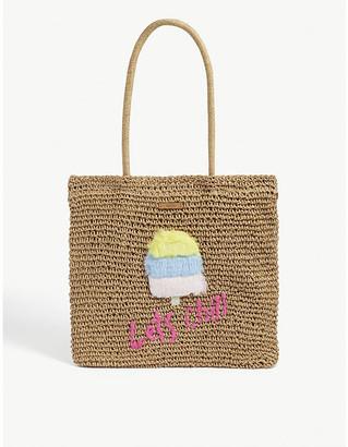 Barts Al Kids Bongo paper-straw ice cream motif tote bag