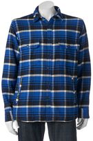 Woolrich Men's Oxbow Plaid Flannel Shirt Jacket
