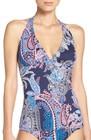womens tommy bahama paisley print tankini top