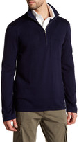 Gant Zipped Mock Neck Sweater