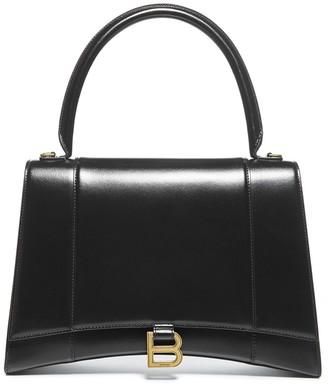 Balenciaga Hourglass Medium Top Handle Handbag