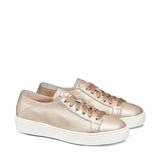 Santoni Cleanic Lace-Up Sneaker