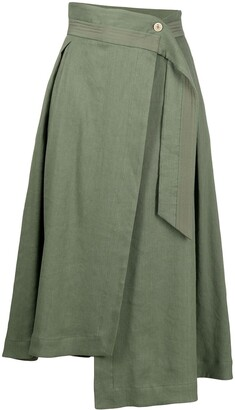 Lorena Antoniazzi High-Waisted Asymmetric Skirt