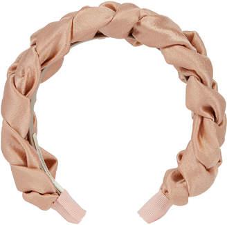 Jennifer Behr Lorelei Hammered Silk Headband