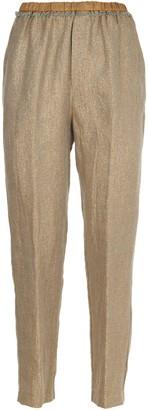 Forte Forte Forte_Forte Linen Lurex Trousers