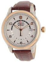 Wenger Women's 43mm Patent Leather Band Steel Case Swiss Quartz Watch 79306c